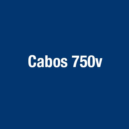 Cabos 750v